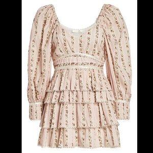 LoveShackFancy Astor Floral Dress